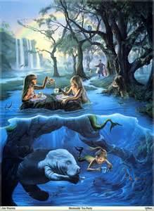 Bathtub Paint Kids Jim Warren Mermaids