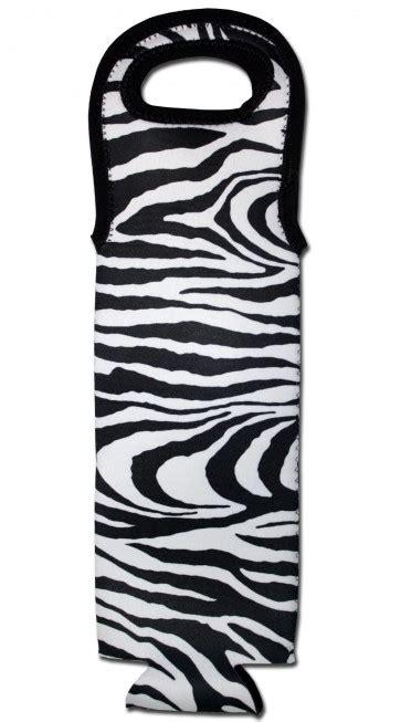 Gabag Zebra Cooler Bag wine bottle tote zebra cooler bag boozingear