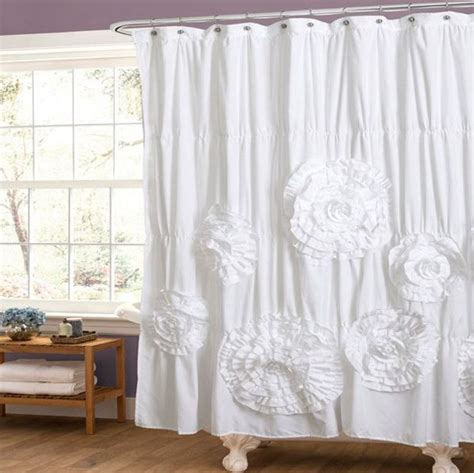 shabby chic shower curtain shabby chic curtain and some