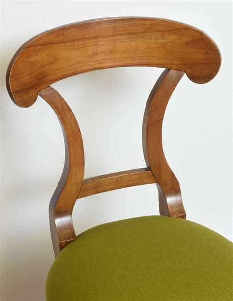 fruitwood x back chair biedermeier fruitwood side chair for sale at 1stdibs