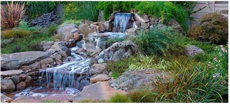 Waterfall Designs for Your Backyard   Ultimate Home Ideas