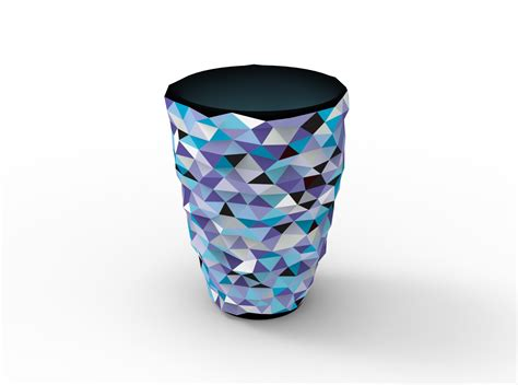 3d Vase by Vvvase Color 3d Printed Vase 3d Model Obj