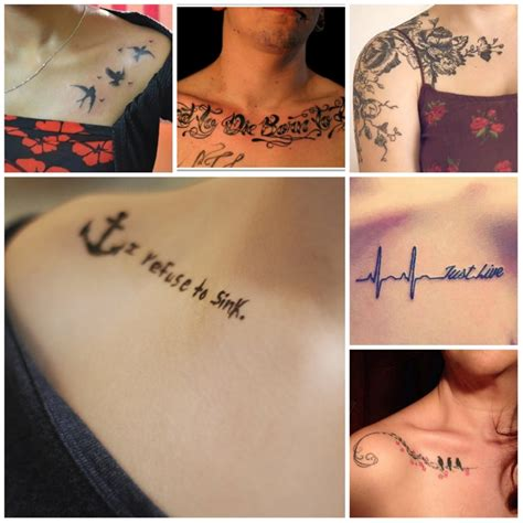small cute female tattoos small feminine chest tattoos amazing