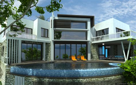 home design modern home design house d interior exterior large ultra modern house plans home deco plans