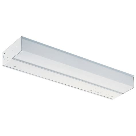 T12 Light Fixture Lithonia Lighting 1 1 2 Ft T12 Fluorescent Cabinet Light 2uc 15 120 M6 The Home Depot