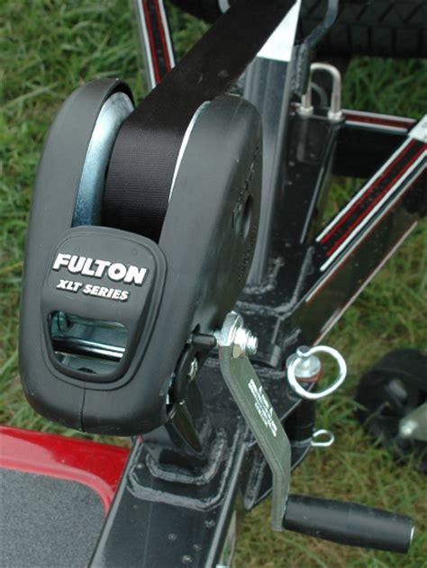 fulton boat winch xlt fulton xlt series winch with strap