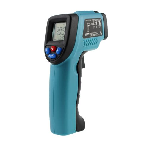 Thermometer Infrared Digital 50 to 550 degree non contact ir infrared digital temperature pyrometer thermometer laser point