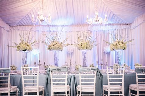 And White Wedding Decorations by White And Blue Wedding D 233 Cor From Grand Event Rentals