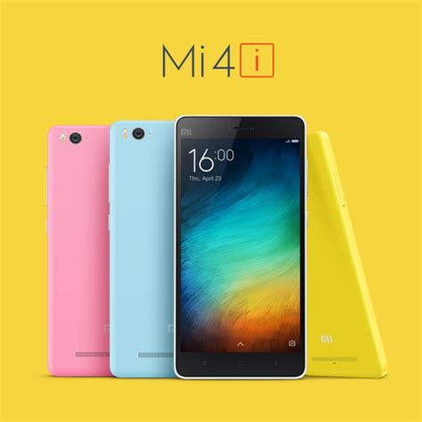 Hp Xiaomi Mi 4i White xiaomi mi 4i specs price and availability officially announced