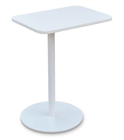 White Coffee And End Tables Harvard Swivel End Table White Coffee Tables Soho Harvard Et Wht 7