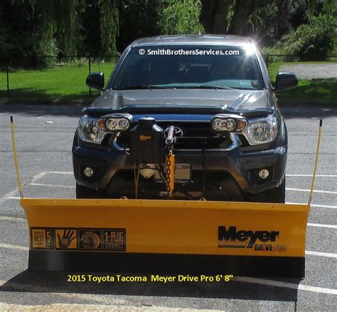 Snow Plow For Toyota Tacoma 27 Best Toyota Tacoma Meyer Drive Pro 6 8 Quot Snow Plow