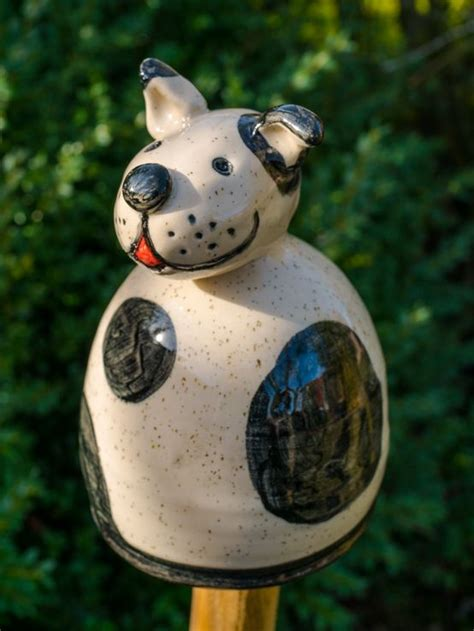 Gartendeko Hund by Gartenstecker Zaunhocker Gartendeko Hund Zaunhocker
