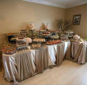 Catering Buffet Table Setup Buffet Cold Dishes And Food On