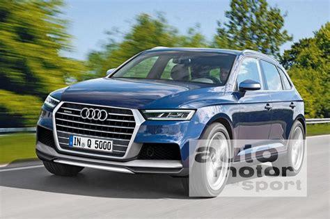 Audi Q5 Neues Modell 2016 by Neuer Audi Q5 2016 Suv Wird Leichter Und Gr 246 223 Er Auto