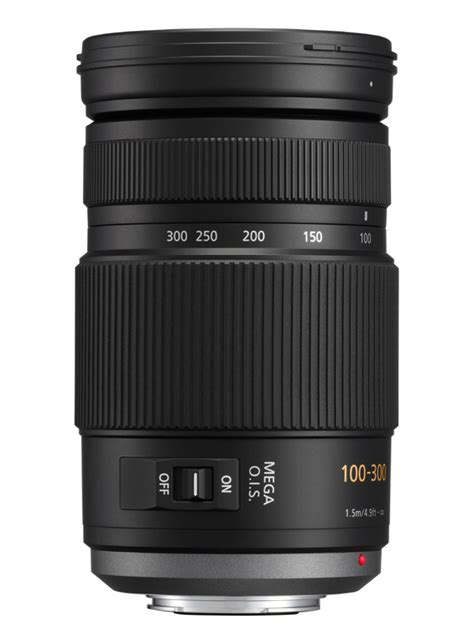 Panasonic Lens Lumix G Vario 100 300mm F40 56 Ois 1 panasonic lumix g vario 100 300mm f 4 5 6 mega ois