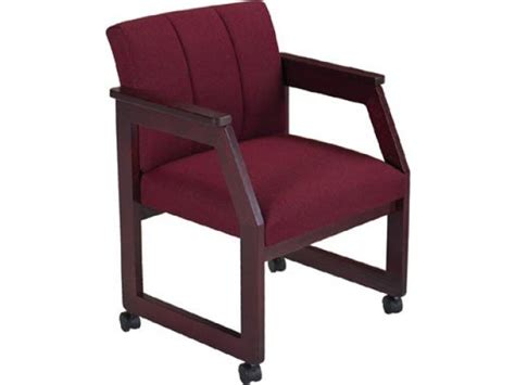 Armchair With Casters by Lesro Angle Arm Chair With Casters Gr 3 Lro 1451cu