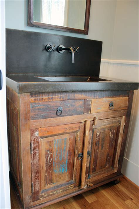 how to distress bathroom cabinets sinks and vanities eclectic bathroom vanities and sink