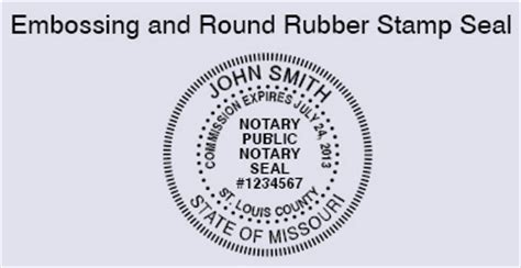 Missouri Notary Seal Pictures To Pin On Pinterest Pinsdaddy Seal St Template