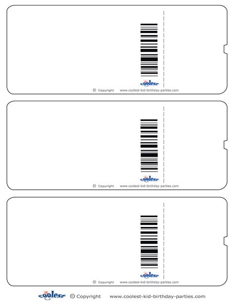 Cinema Movie Ticket Template Search Results Calendar 2015 Blank Ticket Invitation Template