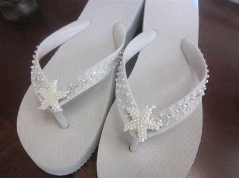 braut flip flops bridal flip flops wedding flip flops white beach wedding
