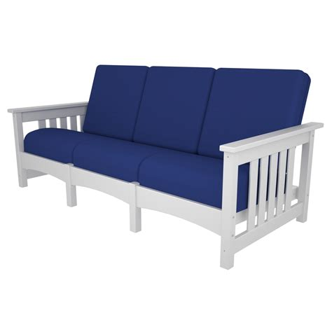 Polywood Sofa mission sofa polywood 174 at forpatio