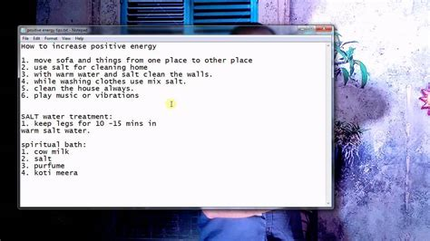 how to remove negative energy from home how to increase positive energy in home and body and