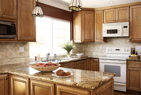 maple cabinets white appliances light granite countertops california kitchen remodeling by ebcon kitchen