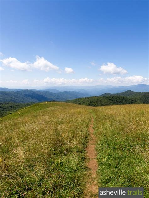 exploring the southern appalachian grassy balds a hiking guide books best 25 map of appalachian trail ideas on