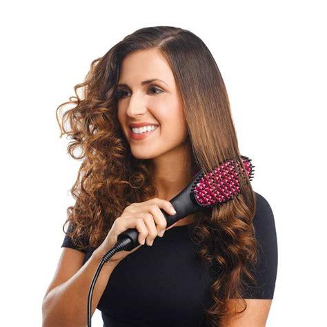 hair ceramic simply ceramic hair straightening styling brush
