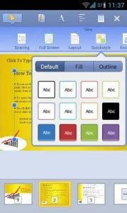 kingsoft office for mobile office for android