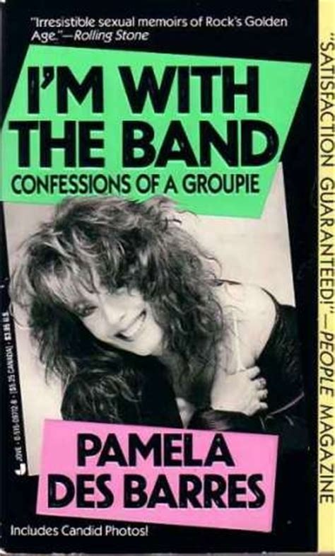 libro im with the band pamela des barres writing