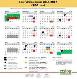 Calendario Es Sep Calendario Escolar Oficial 2016 2017 El Espacio