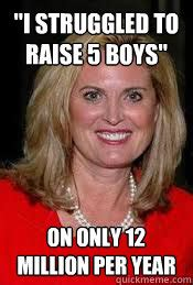 Raising Boys Meme - quot i struggled to raise 5 boys quot on only 12 million per year