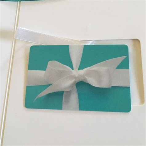Tiffany Gift Cards - 13 off tiffany co jewelry 200 tiffany co gift card from nicole s closet on