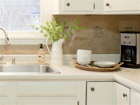 cheap backsplashes for kitchens 6 diy rustic backsplashes for your kitchen