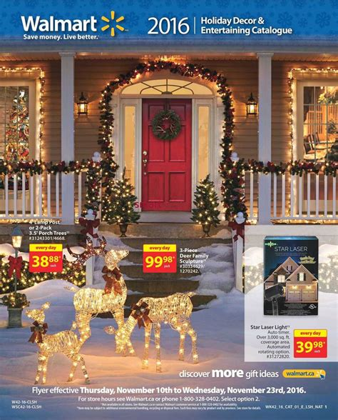decorations walmart walmart decor entertaining catalogue november 10