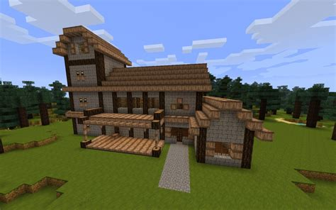 Cottage Minecraft by Skyrim Cottage House Minecraft Project