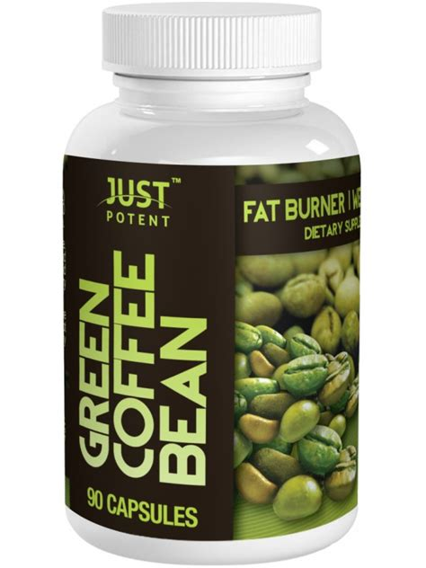 Potent Green Coffee Extract green coffee bean extract by just potent 50 chlorogenic