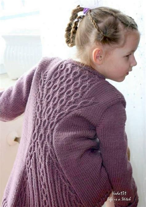 knitting pattern 2 year old cardigan cabletta junior knitting pattern by hanna maciejewska