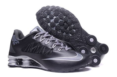 high end athletic shoes high end product nike shox black grey s athletic