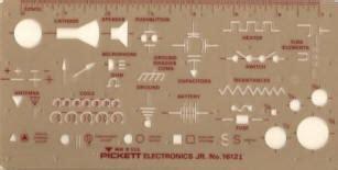 Pickett 1612i Electronics Jr Template Pickett Drafting Templates