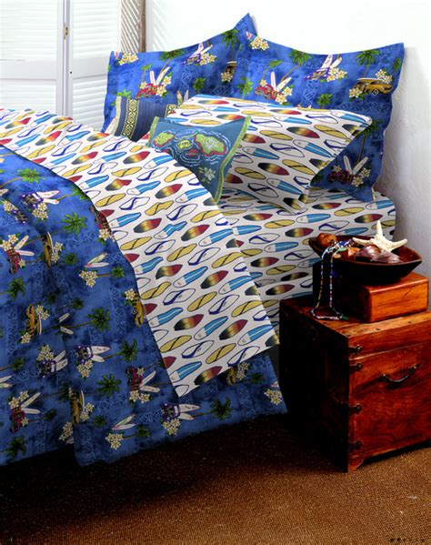 surf comforter woody car bedroom tropical kids other metro by