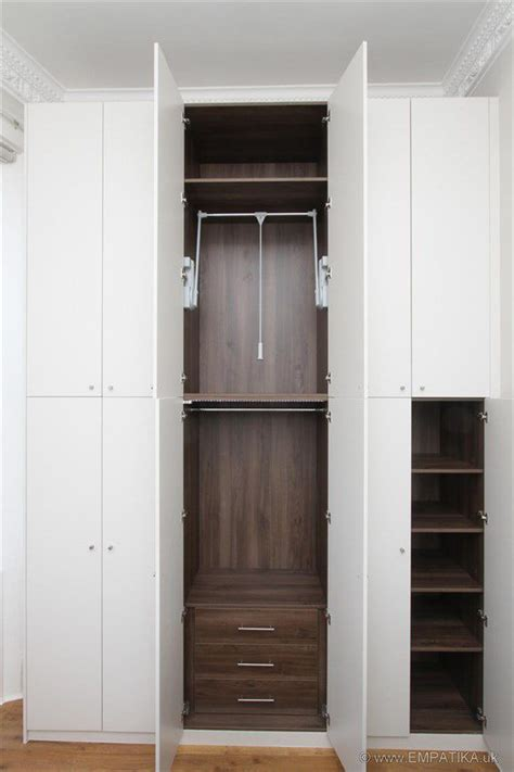 Fitted Wardrobe Interiors by 1000 Ideas About Wardrobe Interior Design On
