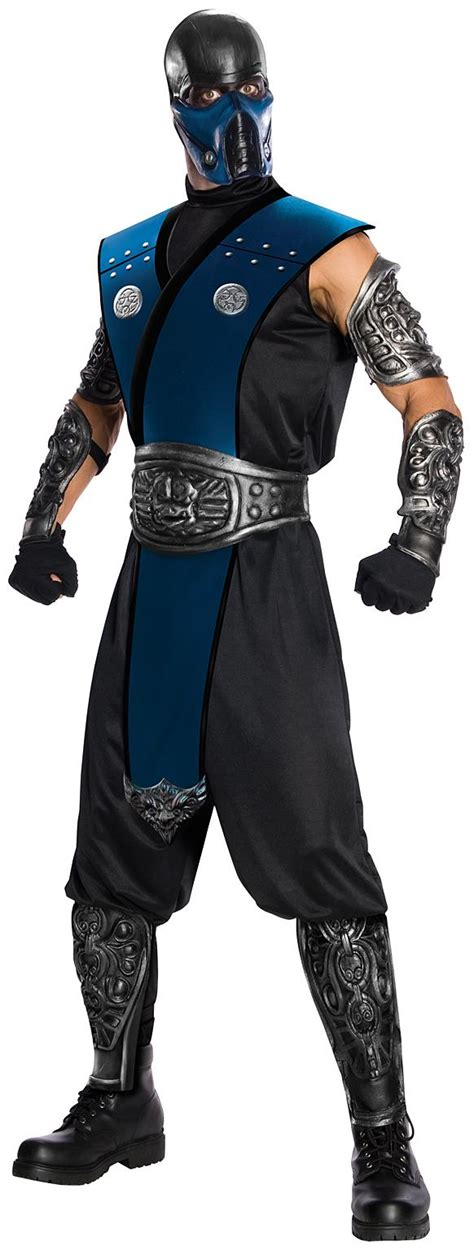 Ready Rc Battle Armour Homy Ped mortal kombat subzero deluxe costume partybell