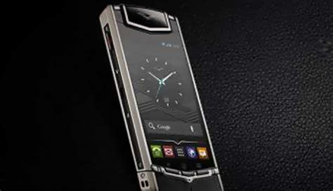 vertu phone 2017 price vertu ti luxury smartphone launches in india at rs 6
