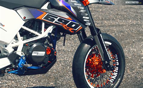 Ktm Power Parts Canada Ktm Smc 690 Rr Dario Custom Build Derestricted