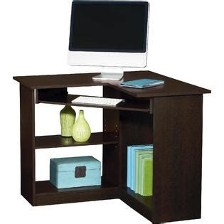 Essential Home Berkley Corner Desk Espresso Home Kmart Corner Desk