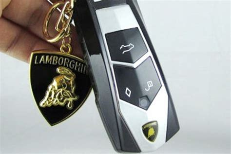 Lamborghini Car Key For Sale Tiny Mobile Phones That Look Like Car Key Fobs Being