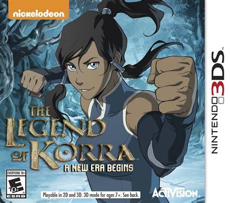 3ds The Legend Of Korra A New Era Begins 3ds