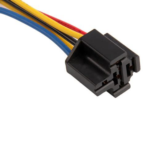 Socket Relay Universal universal car wiring automotive spdt relay 5 pin sockets 5 wire 20a 30a lot dp ebay